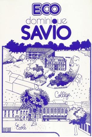Collège Dominique SAVIO - 1988 : Couverture du Journal (Implantation progressive au Bourg)