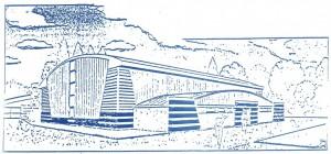 1994 : Couverture du Journal du collège (Salle de sports construite en 1993) - Collège Dominique SAVIO