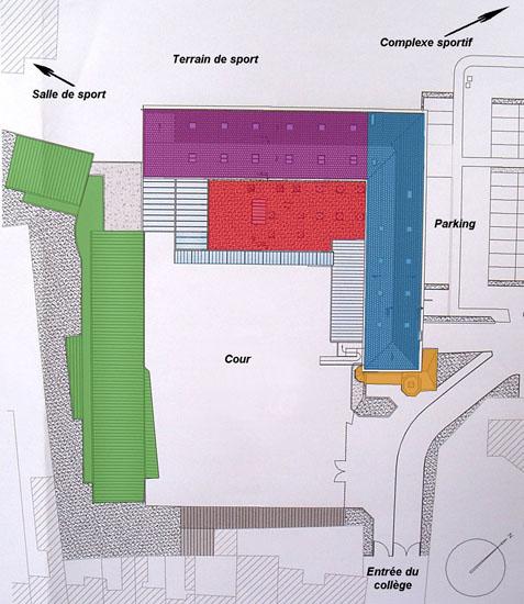 Plan collège Dominique SAVIO