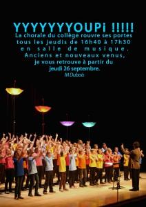 34 Affiche presentation chorale