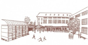 Collège Dominique SAVIO - 1995 : Couverture du journal du collège (Nouveaux batiments en 1995 et 1998)
