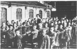 Collège Dominiqua SAVIO - 1957 : L'école des garçons rue des Blanchisseurs